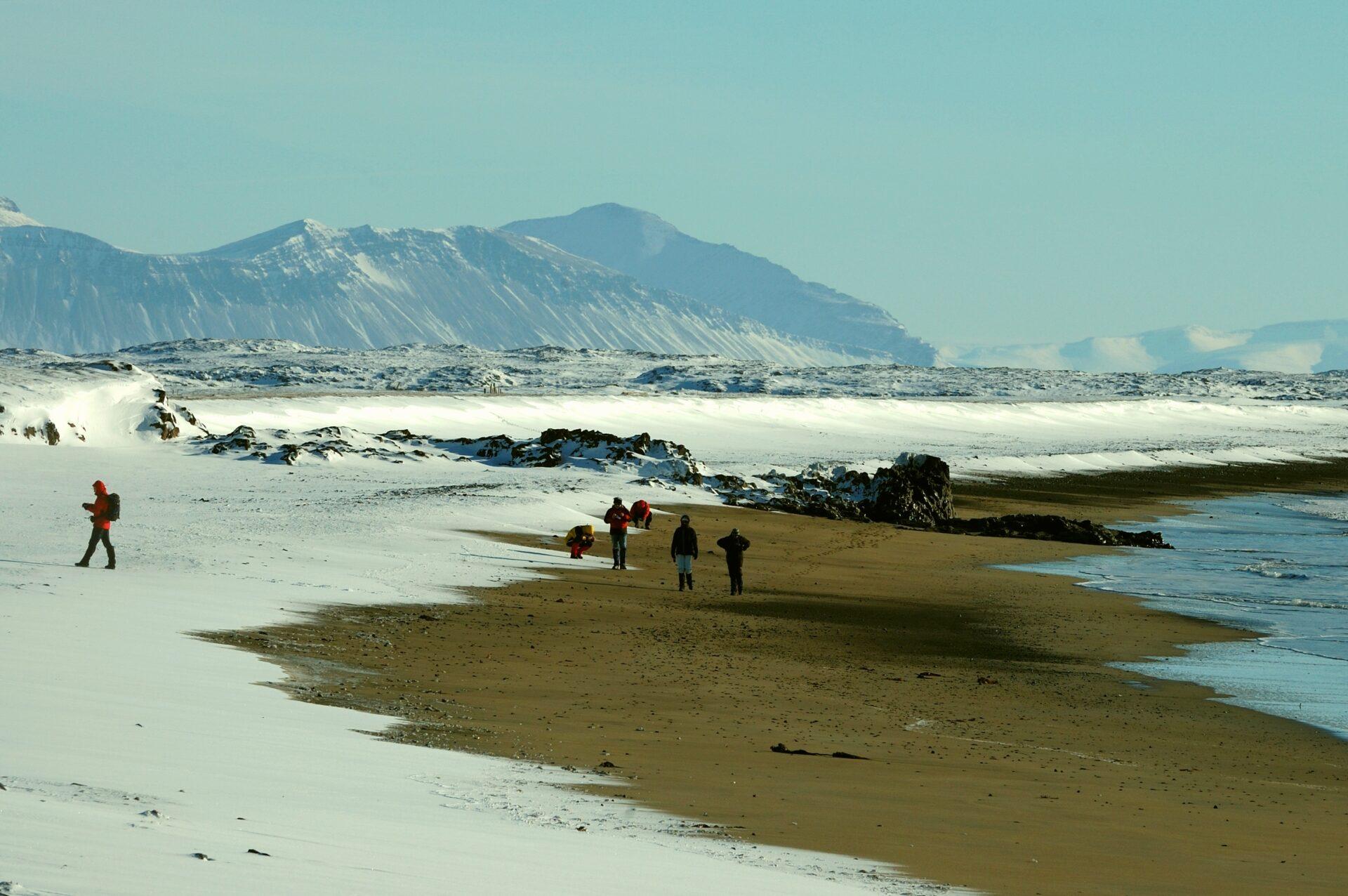 Witte Woestijn van ijs en vuur