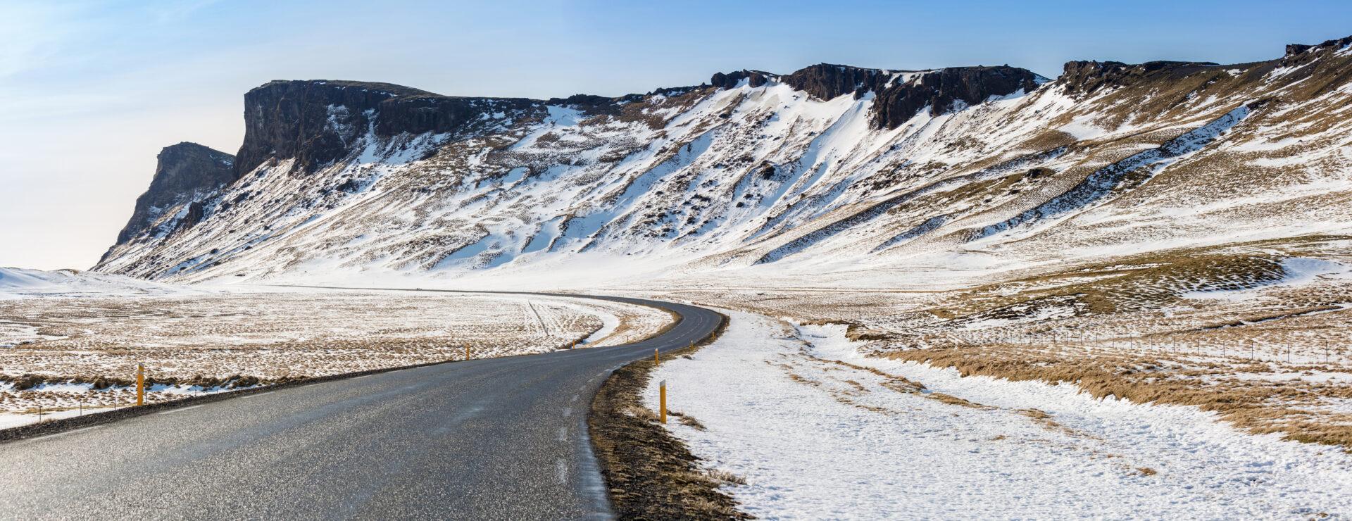 Winters zuid IJsland