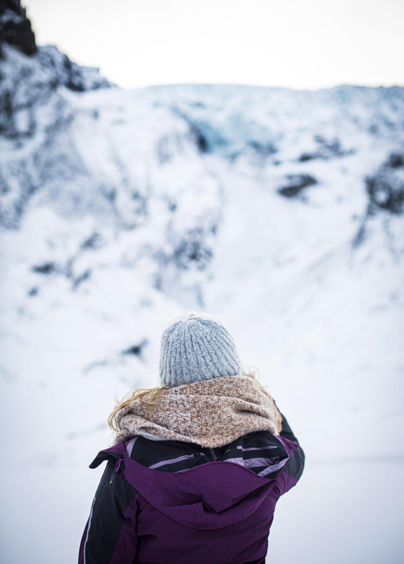 Winters IJsland