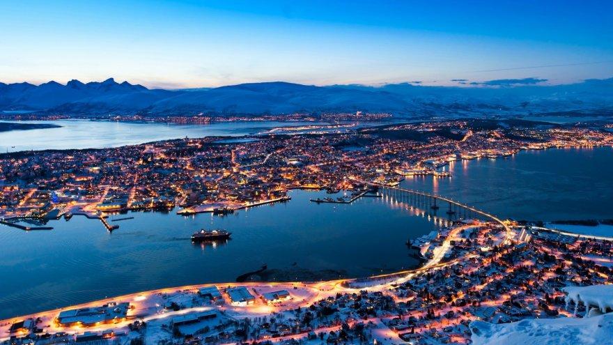 Tromso winter