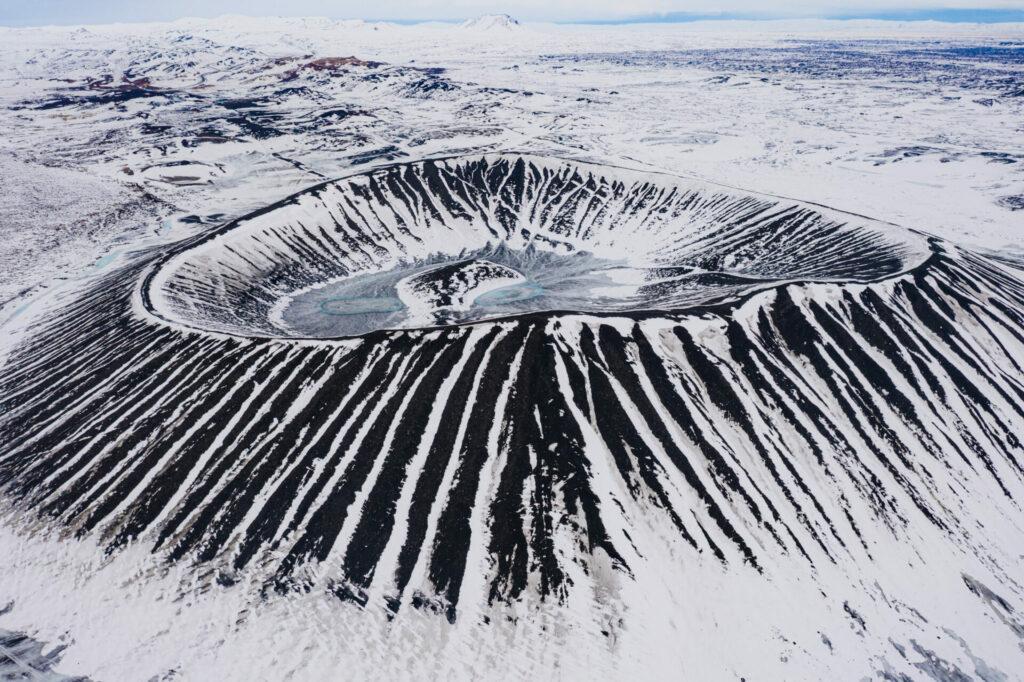 Noord-Ijsland Fotografiereis krater