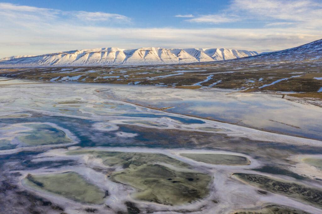 Noord-Ijsland Fotografiereis sneeuwlandschap