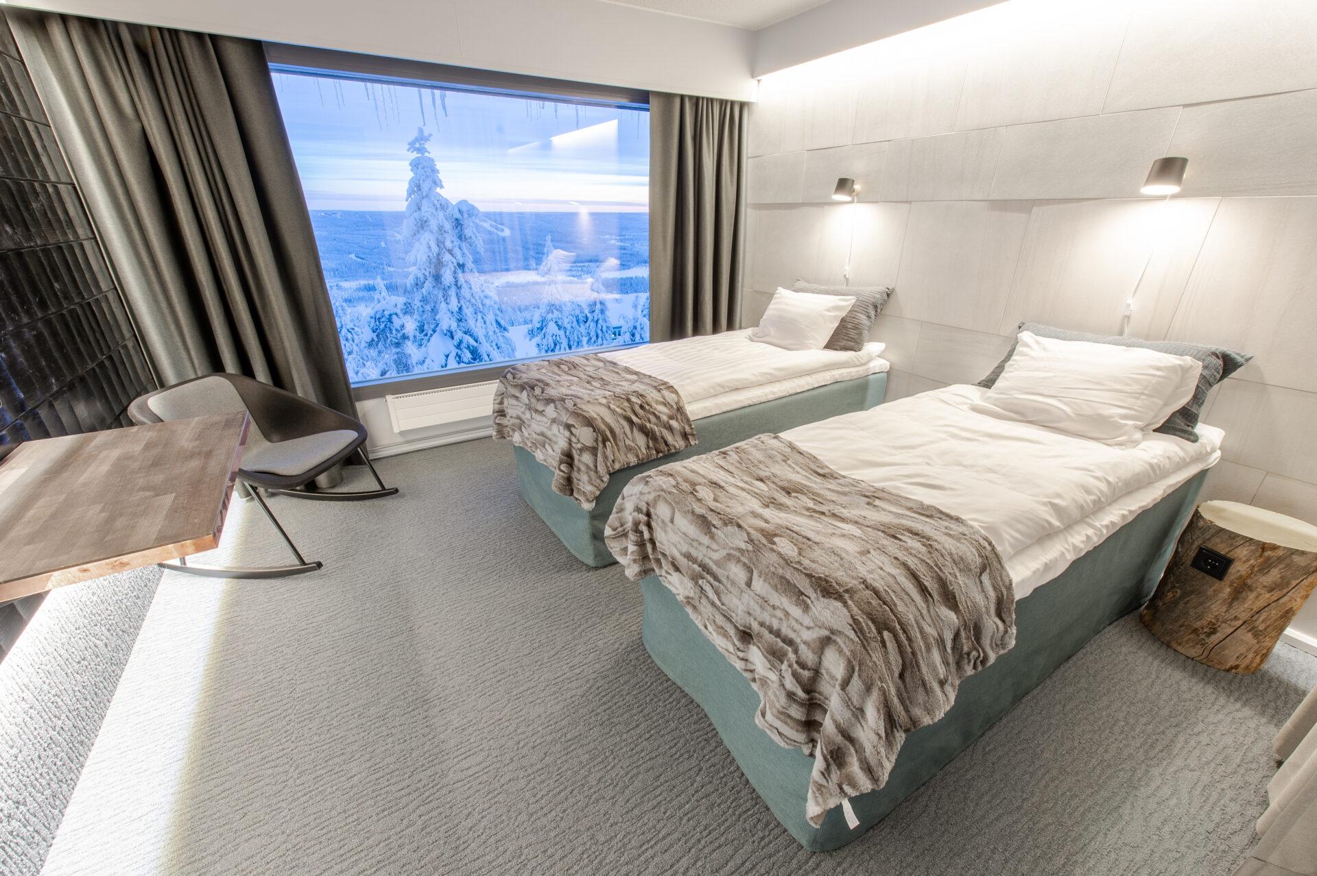 Reindeer room - standaard tweepersoonskamer Iso-Syöte