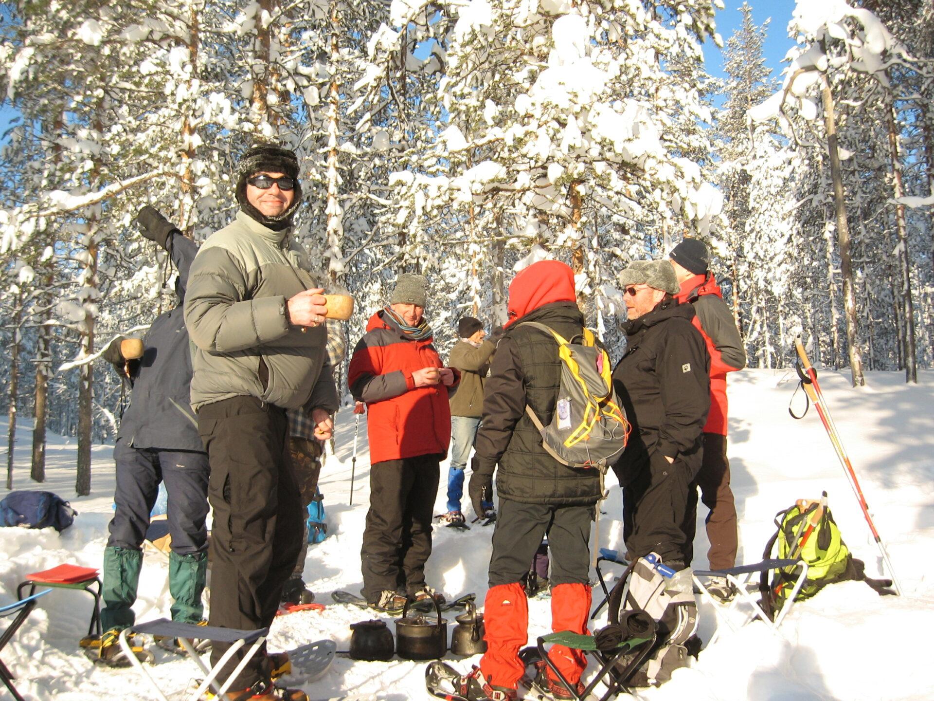 Sneeuwschoenwandelweek in Oost-Finland