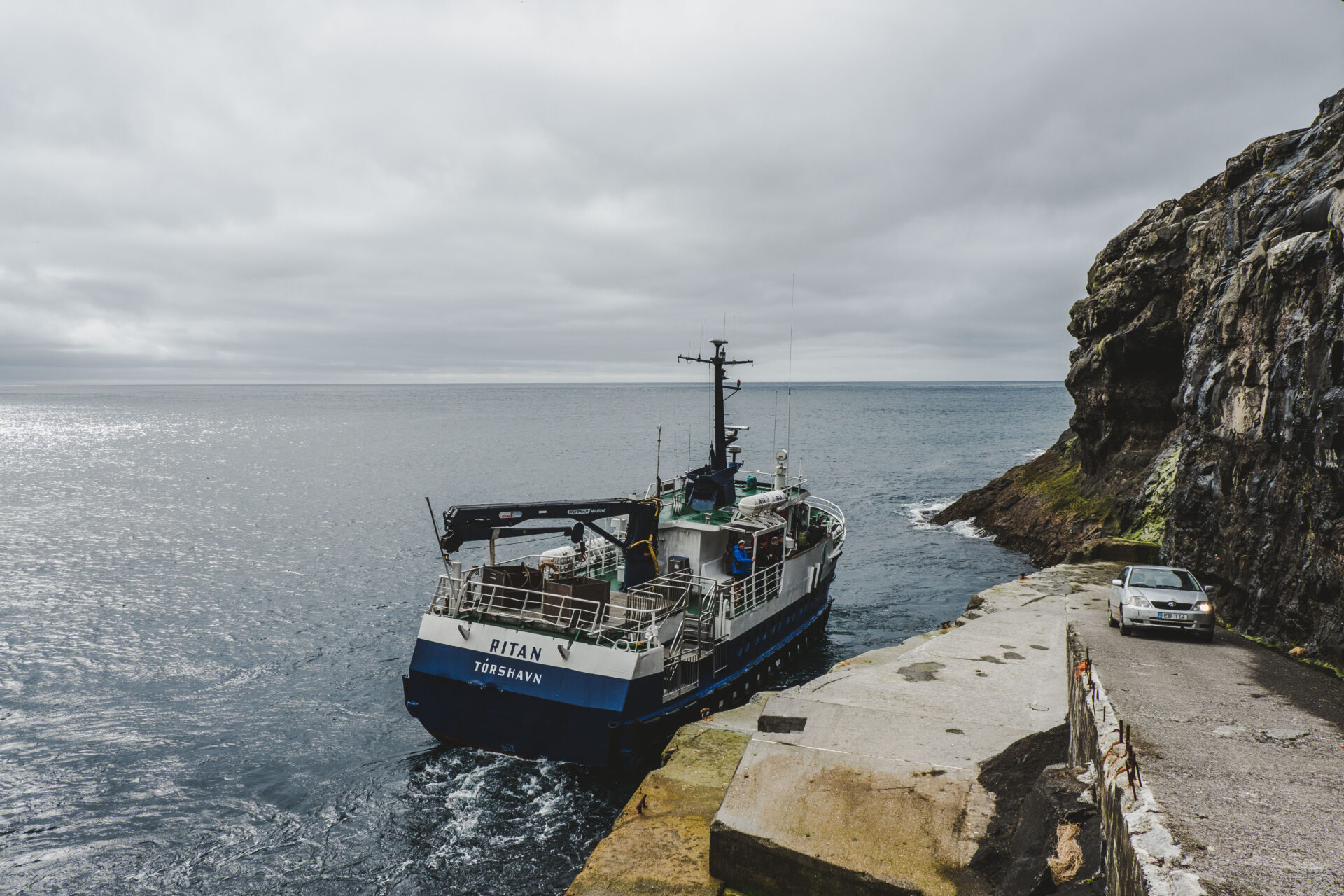 Ferry naar Fugloy