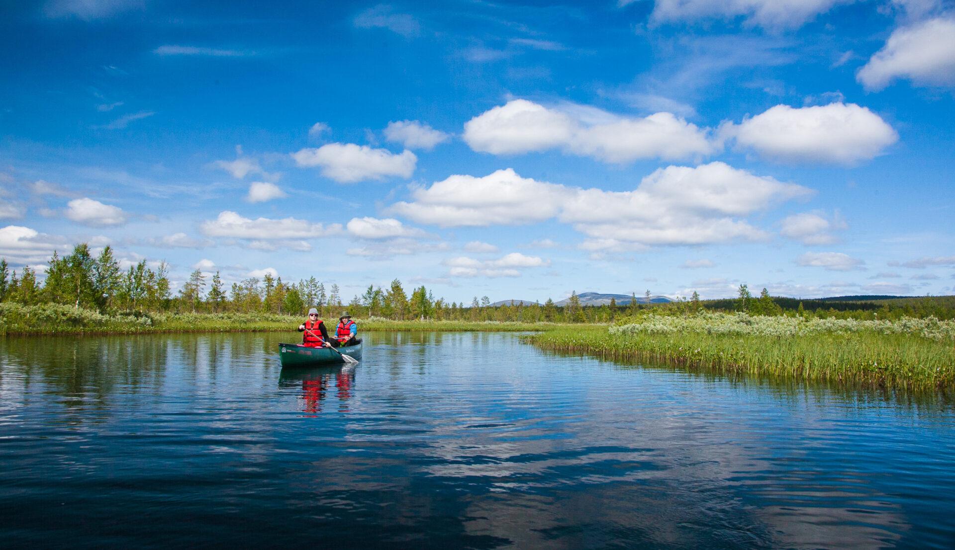 Geen betere wateren om rustig te kanoën