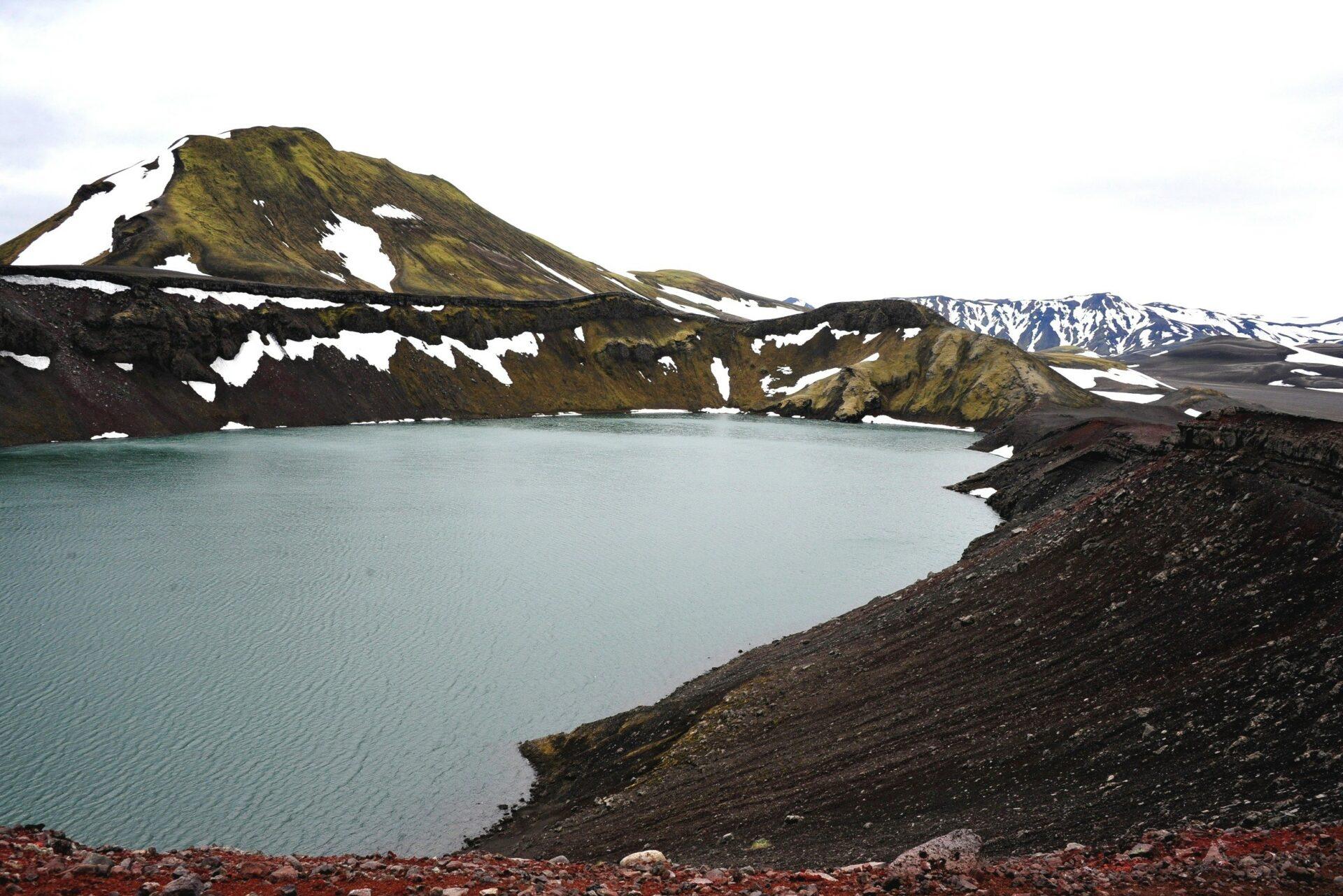 Hooglanden en gletsjers