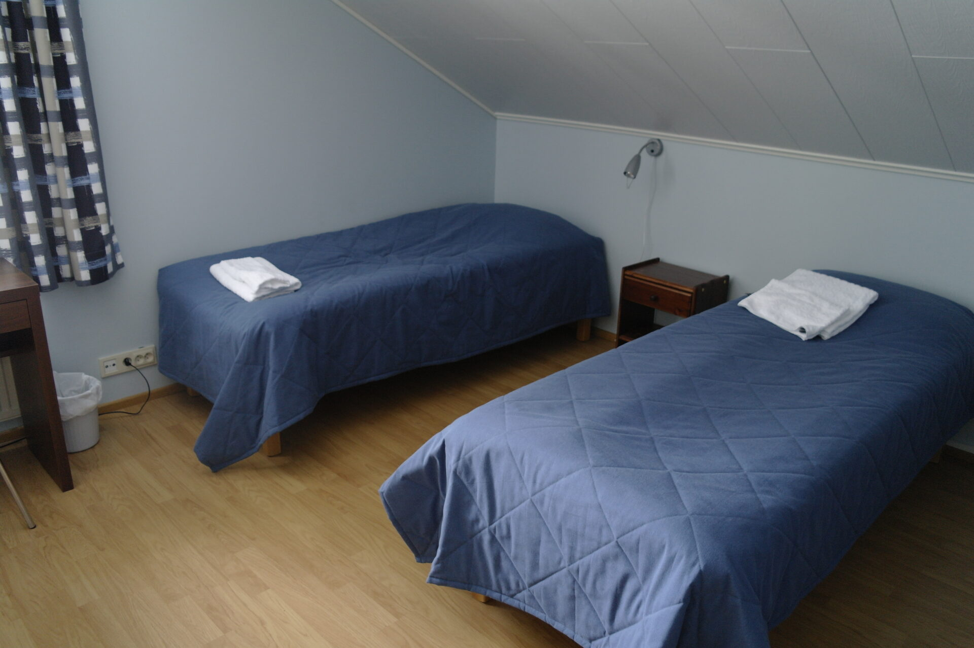 Eenvoudige maar gezellige kamers in Boreal Wildlife Centre