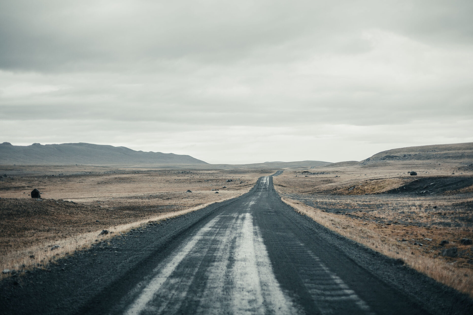 verlaten binnenland IJsland