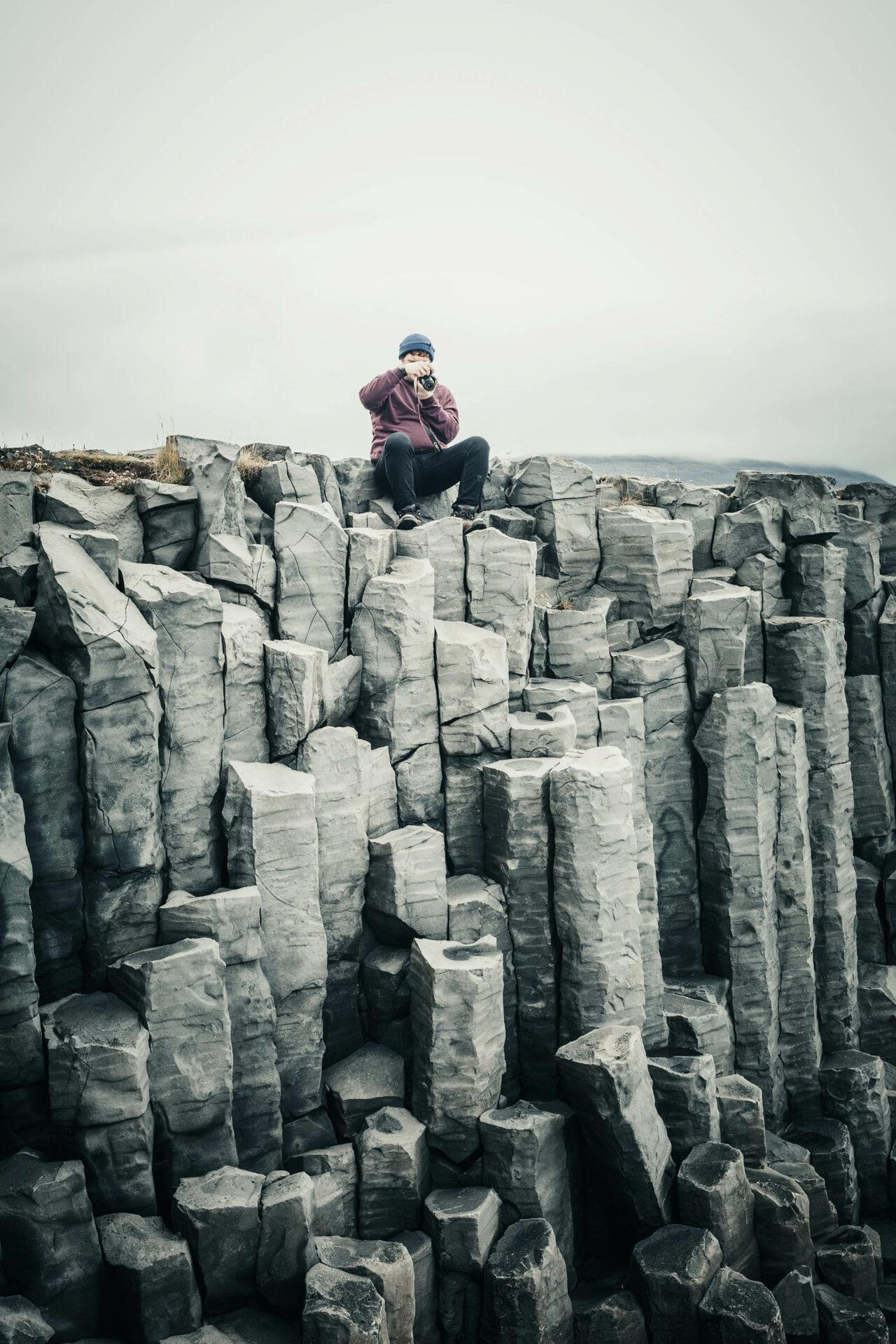 Basaltzuilen IJsland