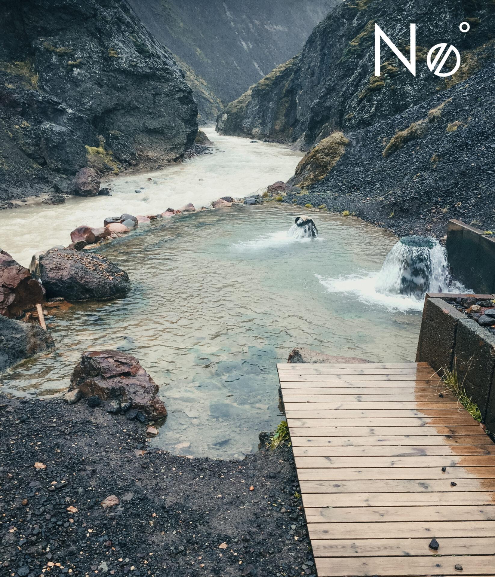 natuurlijke warmwaterbron