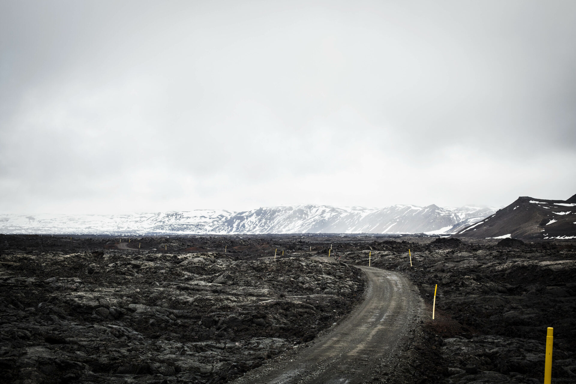 De weg naar Askja