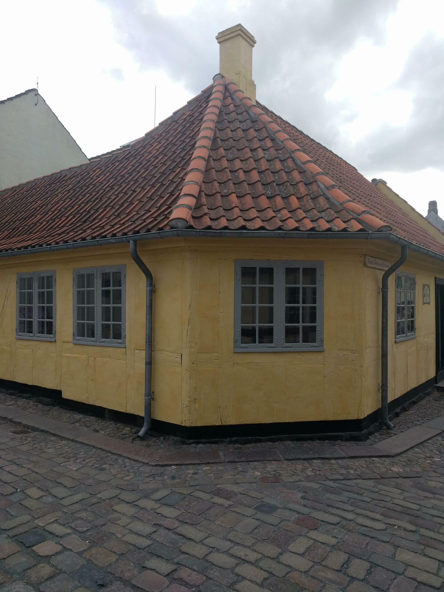 Het geboortehuis van H.C. Andersen in Odense