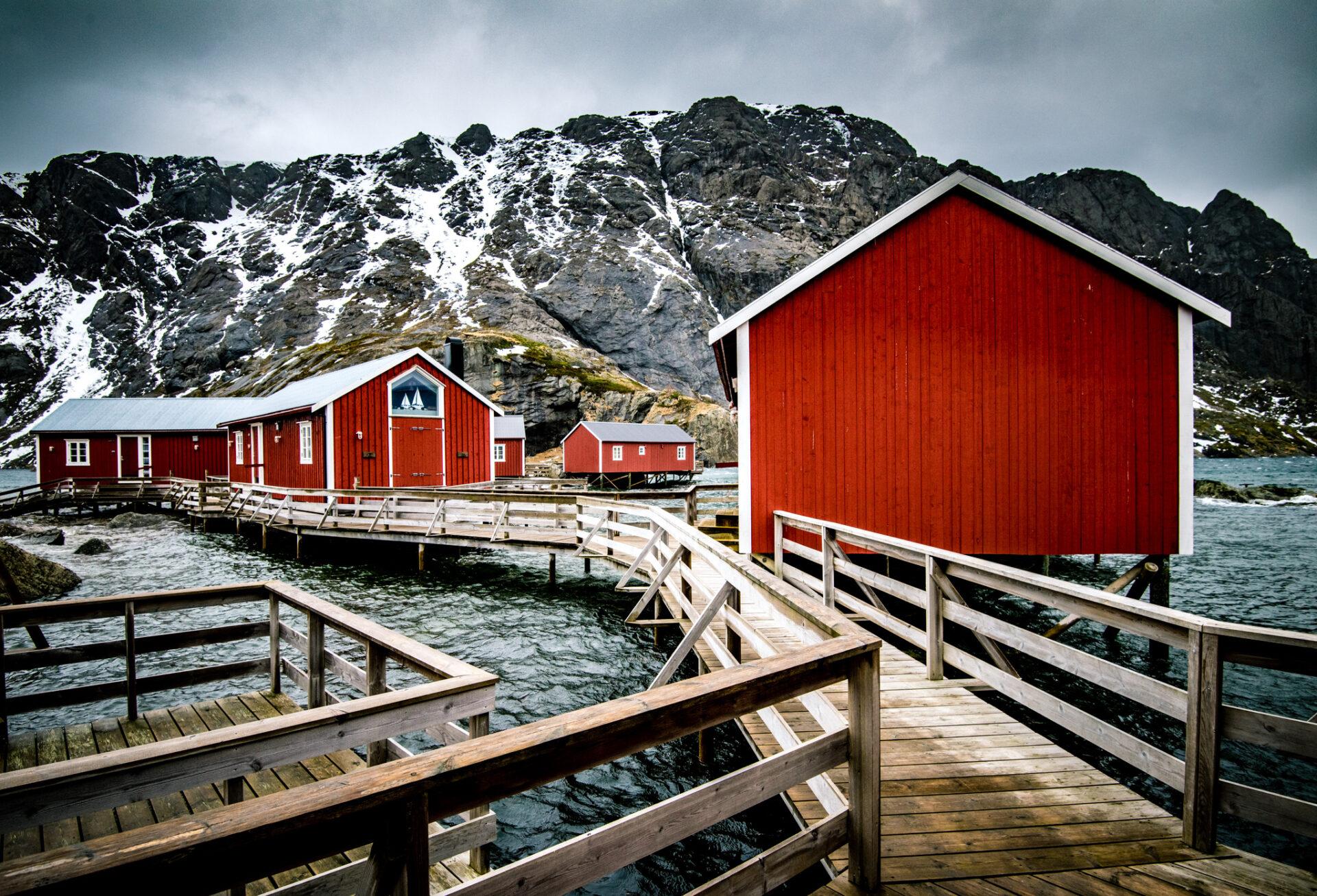 Idyllisch vissersdorpje Nusfjord