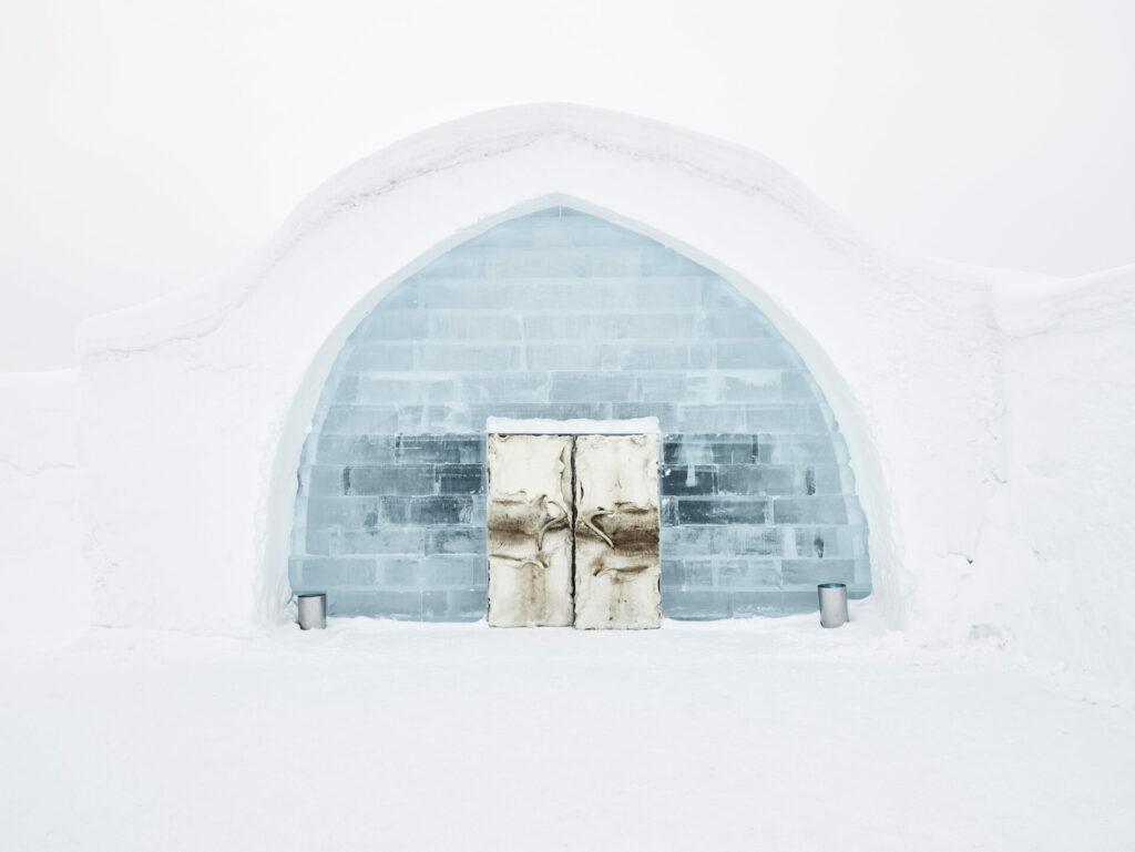 Ingang Icehotel