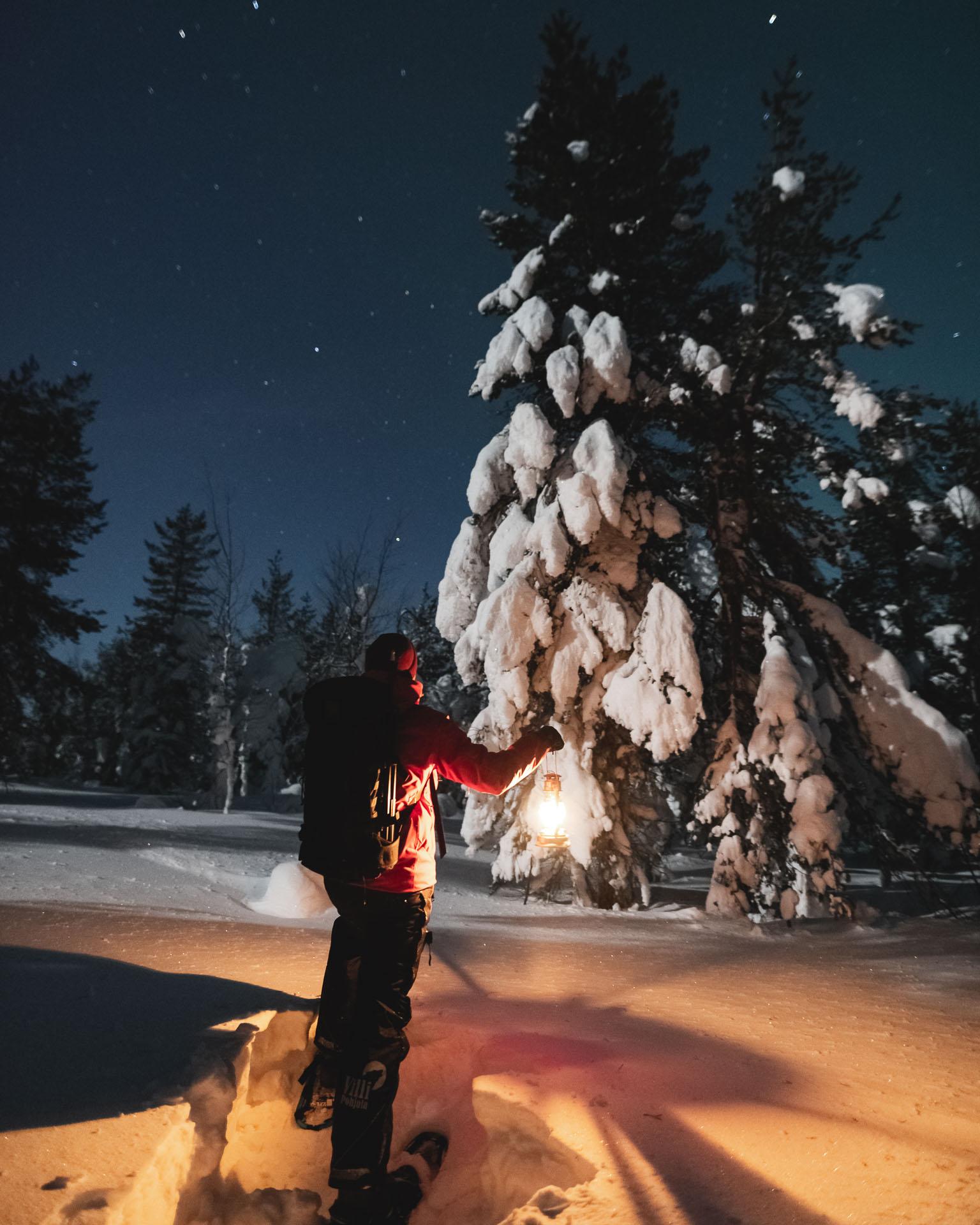 Evening Snowshoe Hike – 4 (Michael Mead)