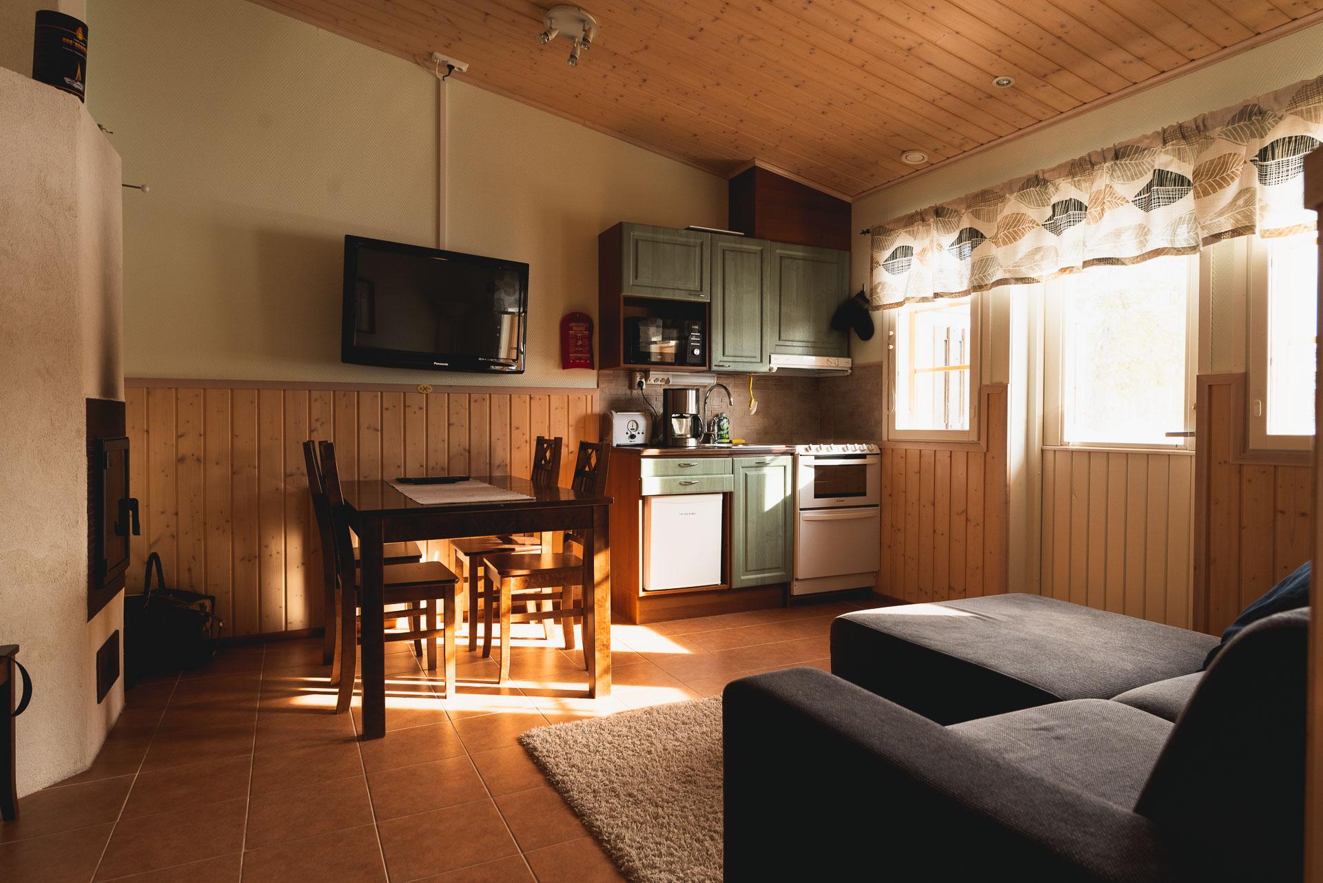 Riverside apartement